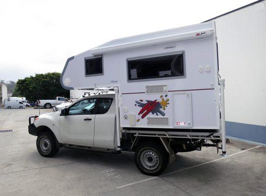 Ozcape Slide-On camper, Shorta on BT50 Freestyle