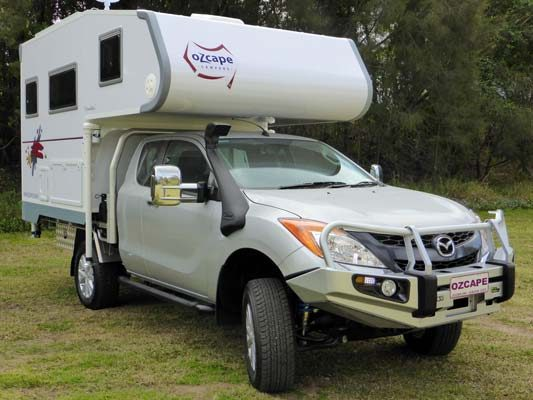 Ozcape Campers Slide-On motorhome Woondabaa on BT50 Freestyle
