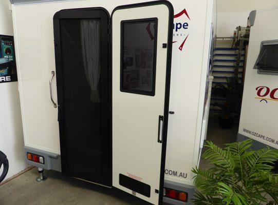 Ozcape Campers Slide-On Optima with split entry door
