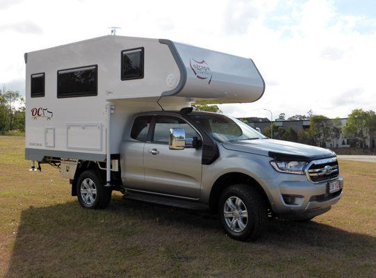 Ozcape Campers Slide-On motorhome Optima on Ranger SuperCab