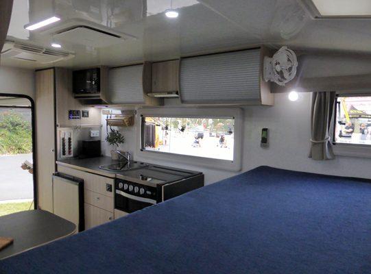 Ozcape Campers Slide-On Optima 2020 kitchen area