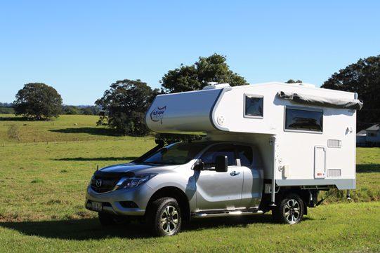 Ozcape Campers Slide-On Optima on BT50 Freestyle